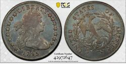 1795 SMALL EAGLE BUST DOLLAR ATTRACTIVE PCGS HOLDERED..L@@K