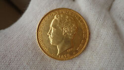 Portugal Gold Coin 10000 Reis 1879 Ludovicus I