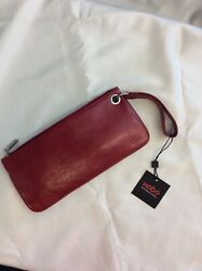 Hobo International Red Leather Small Bag $55.00