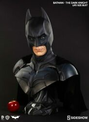Batman The Dark Knight Life-size Bust By Sideshow Collectibles