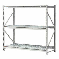 Extra High Capacity Bulk Rack With Wire Decking, Starter Unit, 96w X 48d X