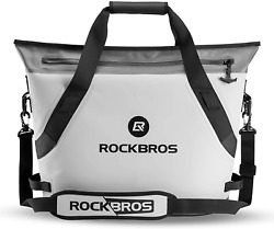 ROCKBROS Soft Cooler Portable Large Beach Cooler 36 Can Leak Proof Soft Sided $186.05
