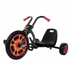 Typhoon Pedal Go Kart With The Ape-hanger Handle Bars, Real Rubber Tires With