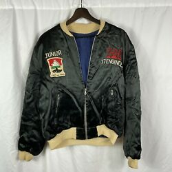1950s Us Army 77th Engineers Batt Patched Souvenir Jacket Cold War Germany
