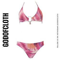 Dior Pink Lock And Key Swimsuit