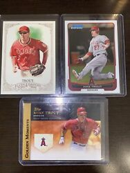 2012 Mike Trout Lot Of 3 Cards🔥🔥 Mlb Mint
