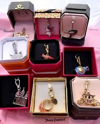 Nwt Juicy Couture Charms Rare And Retired All In Tagged Boxes Robin Castle Mask