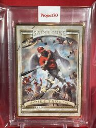 Topps Project70andreg Card 502 - 2006 Mike Trout By The Shoe Surgeon - Gold Frame 1/1