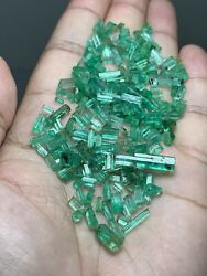 165 Ct Beautiful Natural Color Emralds Crystal From Panshir Afghanistan