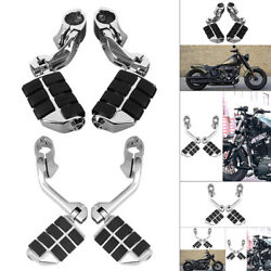 Long Highway Foot Pegs Replacement Motorcycle Foot Controls Fits For Harley