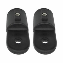 Set Of 2 Nylon Eyelets End Caps Fasteners 7/8 And039and039 Boots Marine Bimini