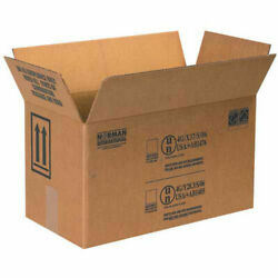 Box Partners 1 Gallon Paint Can Box - 2 Cans 17 X 8-1/2 X 9-5/16 25 Pack,