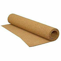 Qep 72003q Natural Cork Underlayment 100 Sq/ft Roll X 25and039l X 4and039w X 1/4d