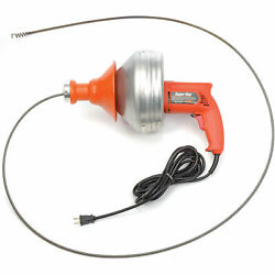 General Wire Super-vee Drain/sewer Cleaning Machine W/ 25and039 X 5/16 Cable.