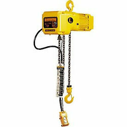 Sner Electric Chain Hoist W/ Hook Suspension - 20and039 Lift 1/4 Ton 14 Ft/min