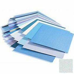 Rigid Vinyl Wall Covering, 1/25'' Thick, 4' X 8' Sheets, Blue Ice