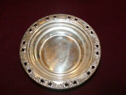 Reed And Barton Sterling Silver Florentine Lace Pattern Small Bowl
