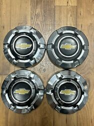 Vintage 1969-1975 C10 Chevy Truck Dog Dish Hubcaps 10.5andrdquo