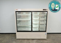 Sanyo Medicool Pharmaceutical Refrigerator Mpr-1013r With Warranty See Video