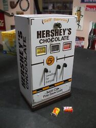 Hershey's Chocolate Bite Size Candy Bars Vending Machine Diner Candy 5 Cent
