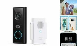 , Video Doorbell 2k Battery-powered With Chime, 2k Hd, No Monthly Fee, On