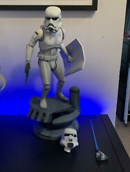 Concept Stormtrooper Sideshow Exclusive Statue