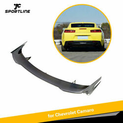 Fit For Chevrolet Camaro Coupe 16up Carbon Fiber Rear Trunk Spoier Lid Boot Wing