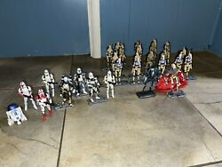 Star Wars The Clone Wars Huge Droid Lot All Figures Are Completed
