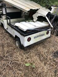 Cushman Beverage Golf Cart For Parts Local Pick Up Only