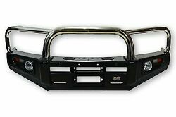4x4 Stainless Loop Deluxe Bullbar For Toyota Hilux Vigo 4x4 2005 To 2011