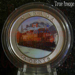 2022 - Cp Holiday Train - 50 Cents 3d Lenticular Gift Coin - Canada