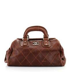 Outdoor Ligne Doctor Bag Quilted Caviar Small