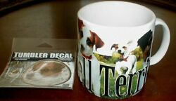 Jack Russell Terrier Dog Cup Mug Lg 16oz America Ware And Tumbler Decal