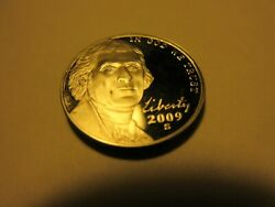 2009 S Unc. Proof Nickel . Good One Rare.cant Find In Change.free Shipping