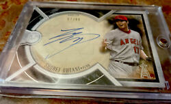 2018 Topps Museum Collection Shohei Ohtani Auto 57/99 Archival Autograph Angels