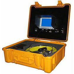 Forbest Portable Color Sewer/drain Camera 100' Cable W/ Heavy Duty Waterproof