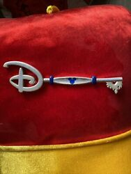 Disney Times Square Opening Ceremony Key New York Silver Blue Collectible