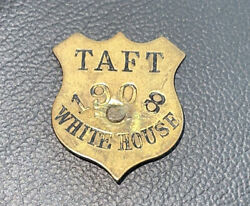 Rare Vintage Watch Fob - Taft 1908 White House Shield - Different
