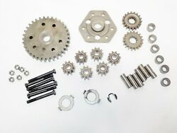 Peerless 6-speed Hi/lo Trans 122419x Differential Gears And Parts Lot 499