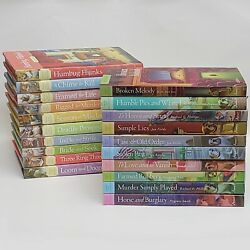 20 Cozy Mystery Book Lot Amish Inn And Antique Shop Mysteries