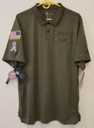 Green Bay Packers Nike 2018 Salute To Service Sideline Polo Xl Last One