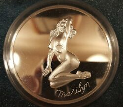 5 Oz Silver Marilyn Proof Coin Only 750 Minted Very Rare And Very Collectable.