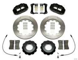 Wilwood Narrow Superlite 6r Front Kit 14in Slotted Rotor W/ Lines For 05-15 Toyo