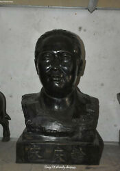 21 Pure Bronze Politician Patriot Great Woman Song Qingling Half Bust Statue