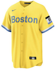 Nike Men's Boston Red Sox Mlb City Connect Jersey Xl