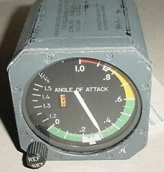 Slz9680-3 Aircraft Angle Of Attack Indicator With Serviceable Tag