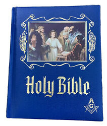 Masonic Holy Bible Master Reference Edition Heirloom Red Letter Edition 1971