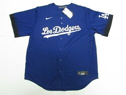 Los Angeles Dodgers Mlb Nike 2021 City Connect Baseball Jersey Size Xxl