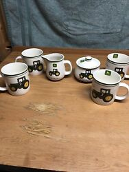 John Deere Tractor Gibson Dishes Coffee Cup Lot