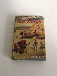 Th Red Tractor By Paul Corey, William Morrow And Company, New York 1944